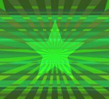 Starry Lime Radiance Sticker