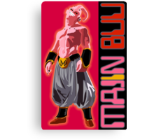 Villains Devil Majin buu Canvas Print