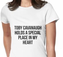Toby Cavanaugh Womens Fitted T-Shirt