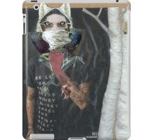 Werewolf Under the Ash Trees  iPad Case/Skin