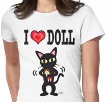 I love doll Womens Fitted T-Shirt