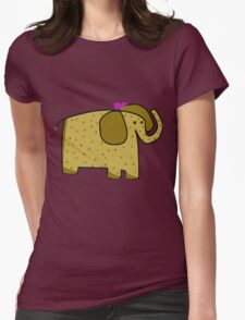 Cute she elephant Womens Fitted T-Shirt