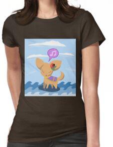 Fan-Sea Fennec Womens Fitted T-Shirt