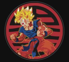 Super saiyan son goku Kids Clothes