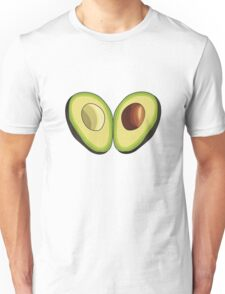 Avocado Heart Unisex T-Shirt