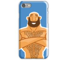 HAPPY HAIRY BEAR VERSION 1.2 iPhone Case/Skin