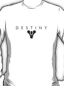 Destiny emblem and text T-Shirt
