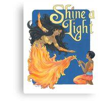 Shine A Light Canvas Print