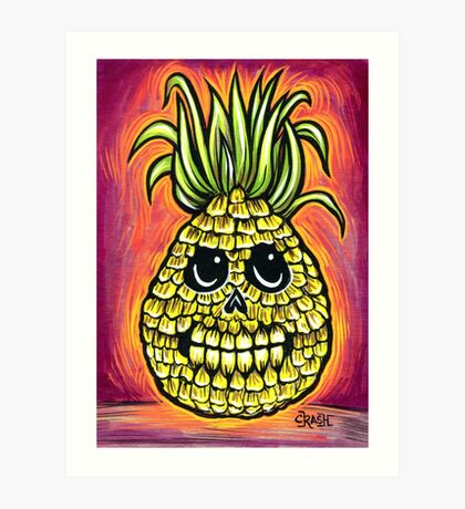 Pineapple! Art Print