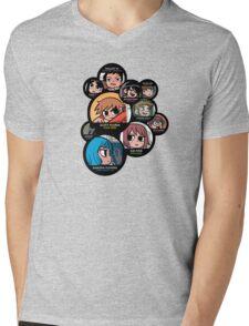 Scott Pilgrim characters Mens V-Neck T-Shirt