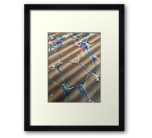 Bubbled Touch Framed Print