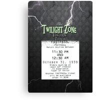 The Tower of Terror- Fast Pass Canvas Print