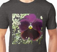 A Glitch in the Flower Matrix Unisex T-Shirt