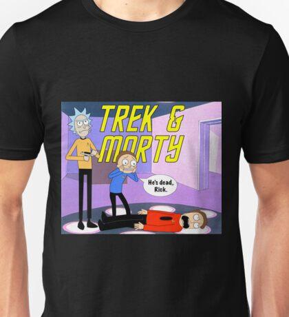 Trek & Morty Unisex T-Shirt
