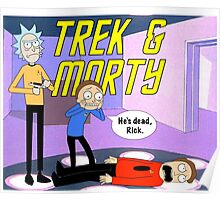 Trek & Morty Poster