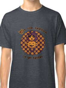 Spoopy pumpkin girl Classic T-Shirt