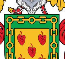 Eguia Coat of Arms (Spanish) Sticker