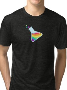 Rainbow Beaker Tri-blend T-Shirt