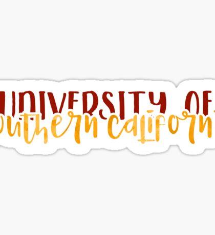 USC - Style 1 Sticker