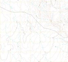 USGS TOPO Map Arizona AZ Willow Springs 20111027 TM Sticker