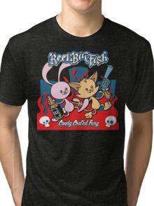 Candy Coated Fury Album Tri-blend T-Shirt