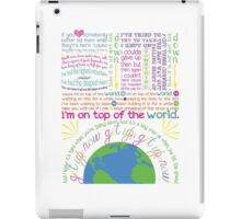 On Top Of The World (2) iPad Case/Skin