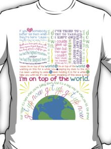 On Top Of The World (2) T-Shirt
