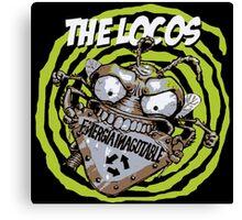 The Locos Ska Punk Canvas Print