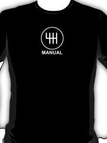 Save the Manuals!! T-Shirt