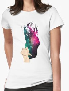 Space Elf Womens Fitted T-Shirt