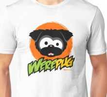Black WerePug - White/Light Apparel & Stickers T-Shirt