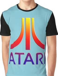 Atari Logo Graphic T-Shirt