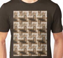 Battery Mishler ladder going nowhere, sepia pattern Unisex T-Shirt