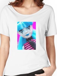 Punk Gothic Doll Women's Relaxed Fit T-Shirt