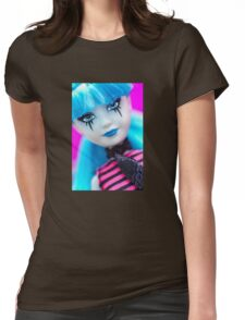 Punk Gothic Doll Womens Fitted T-Shirt