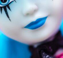 Punk Gothic Doll Sticker
