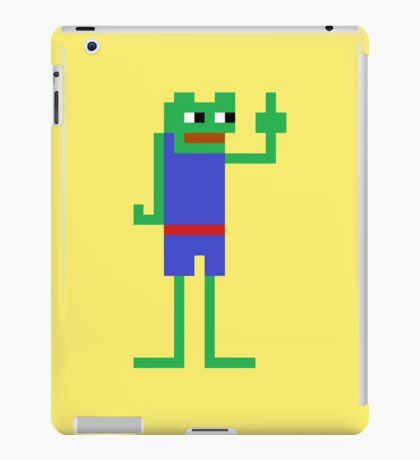 Very Retro Pepe iPad Case/Skin