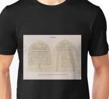 0006 Aethiopen Barkal Jebel Barkal Nördliche Pyramidengruppe a Pyr 18 Westwand b Pyr 19 Westwand Unisex T-Shirt