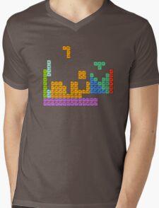 Periodic Tetrominoes Mens V-Neck T-Shirt
