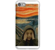 Sad MR ROBOT iPhone Case/Skin