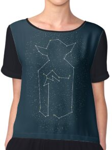 Star Peace Chiffon Top