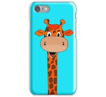 Giraffe Head Cartoon iPhone Case/Skin