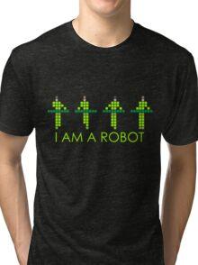 PIXEL8 | Power Station NEON | I AM A ROBOT Tri-blend T-Shirt