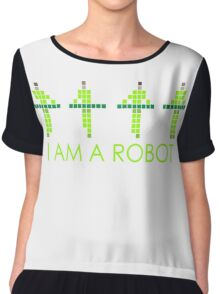 PIXEL8 | Power Station NEON | I AM A ROBOT Chiffon Top