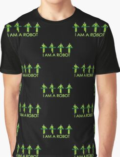 PIXEL8 | Power Station NEON | I AM A ROBOT Graphic T-Shirt
