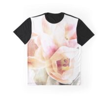 pale pastel tulips Graphic T-Shirt