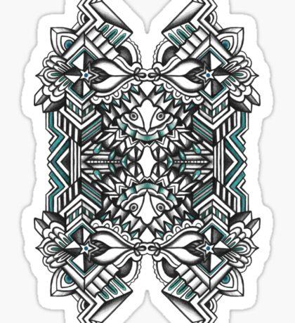 SYMMETRY - Design 008 (Color) Sticker