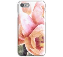 spring tulips iPhone Case/Skin