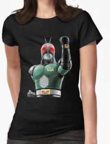 kamen rider rx ready Womens Fitted T-Shirt