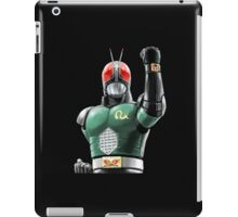 kamen rider rx ready iPad Case/Skin